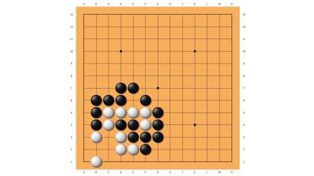 寻找围棋网络课堂,死活训练,冲段难度23