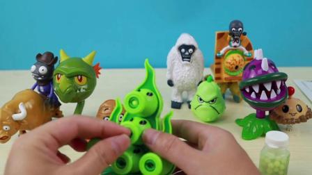 开箱玩具:来个豌豆射手自传版,看看他怎么玩吧