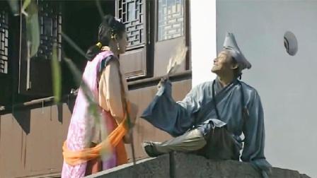 济公:济公桥上看风景妇女找他救命济公:坏人总是作法自毙!