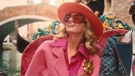 古驰2021春夏眼镜广告形象大片视频 威尼斯篇