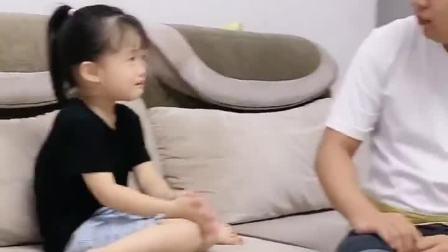 童年趣事:毕竟在幼儿园还需要妹妹的保护