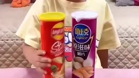 童年趣事:这些零食都是我的啦
