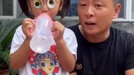 童年趣事:宝贝的眼睛怎么会动呀