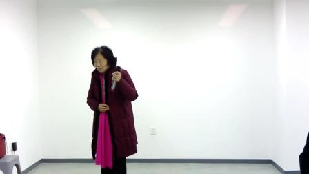 (银环儿你不要多操心)84岁的闫迎春老师演唱,刘成功老师板胡伴奏