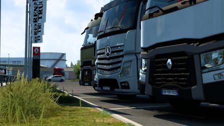 欧洲卡车模拟2|Euro Truck Simulator 2#12 1.40版本试玩