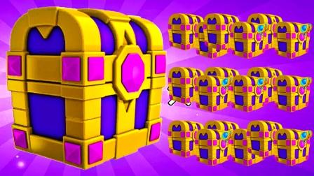 萌龙大乱斗:一口气连开24个史诗进化宝箱,能开出多少进化材料