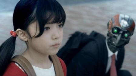 日本讽刺短片,女孩对机器人说了一句话,竟让他瞬间变成了人类!