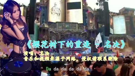 中文DJ《樱花树下的重逢 - 名决》节奏动感,好听至极!