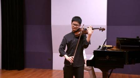 雷海睿  柴可夫斯基D大调小提琴协奏曲第一乐章
