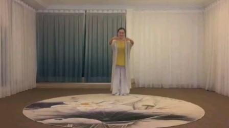 钟安娜,中道禅舞练习(琵琶语)