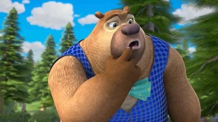 熊出没:强哥的吹牛术,无人能及,连记者都被他忽悠的团团转