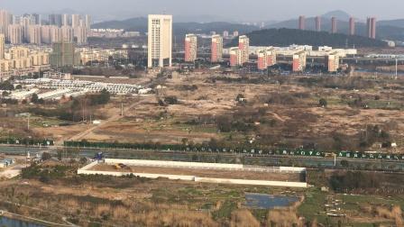 南京地铁S2/宁马线马鞍山段试验工程九华路站施工现场