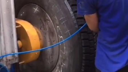 轮胎翻新中,节约资源