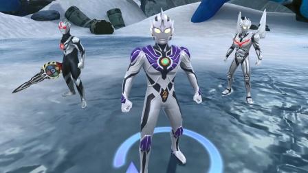 奥特曼宇宙英雄,雷杰多奥特曼打败了银河和雷德王