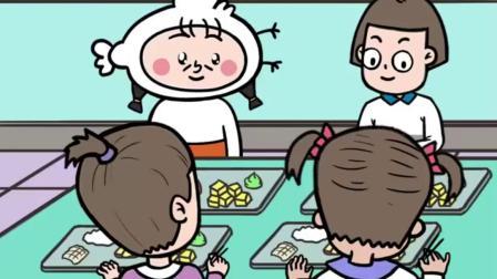 低年级同学打饭VS高年级同学打饭,你班有这样的吗?