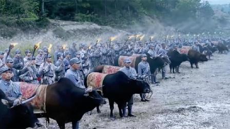 马上:角上绑刺刀尾巴绑鞭炮用老祖宗的方法打败日军不败神话