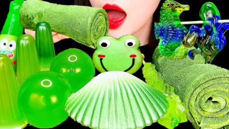 流行的绿色甜点,清新不失香浓,简直爱不释口