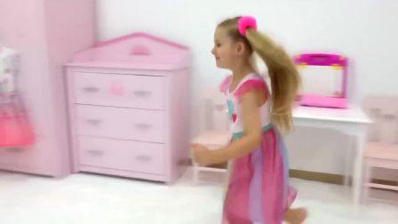 魔镜带萌娃,和她的小伙伴去游乐场玩耍!