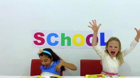 萌宝小可爱:萌宝在学校吃的什么午餐,好奇怪