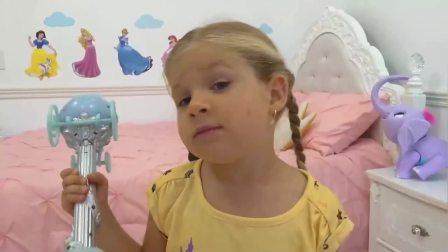 萌娃小可爱:小萝莉去给动物送吃的
