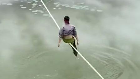 真功夫 蜻蜓点水,一根绳子惊呆了老外