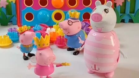 猪爸爸破坏了佩奇的蛋糕,猪妈妈帮忙查出了凶手