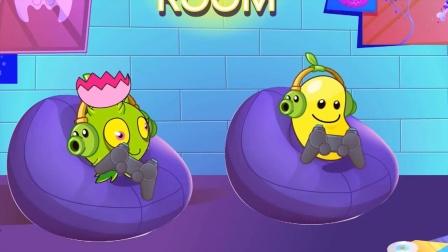 植物大战僵尸:植物玩游戏