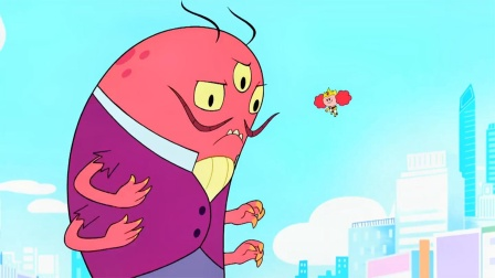 飞天小女警:怪兽的战力爆表,却还能被钱收买,真是不可思议!