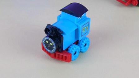 神秘好玩的蓝色火车头奇趣蛋