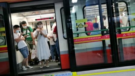 广州地铁3号线03X127-128出珠江新城站
