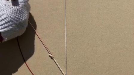 看看木工两钉一线,画椭圆儿。
