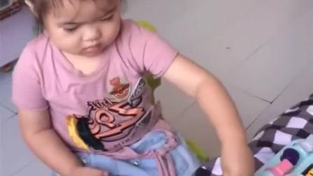 亲子游戏:小宝贝会闯关吗