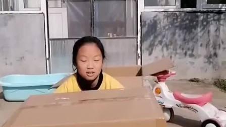 童年趣事:妹妹怎么给变没了