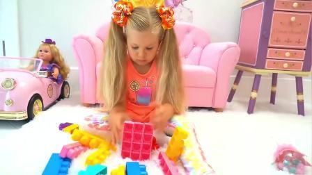 萌宝小可爱:萌娃们玩积木,好好玩