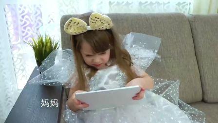 萌宝小可爱:娃娃要玩游戏,可是姐姐不乐意