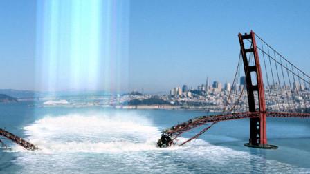 地球停止自传后,太阳辐射太过强烈,直接烧断大桥煮沸海水!