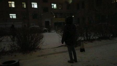 孟小筱:2021年第一场雪1月31日