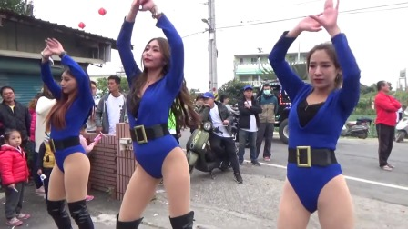 街拍庆典嘉宾热舞,女神降临广场舞