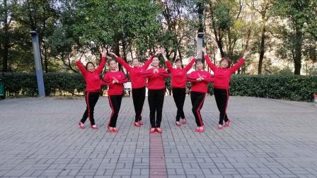 耒阳市狮子岭广场舞队《我们和祖国一起过年》原创:午后骄阳