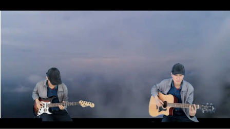 海 滨   吉他弹唱   红河谷