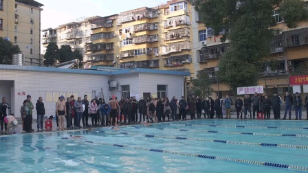 2021年元旦冬泳活动