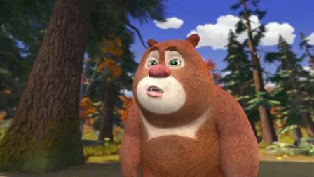 熊出没:儿时熊太可爱了,熊大牵着熊二,好小的两只简直萌化了