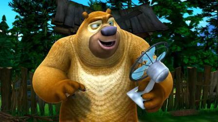 熊出没:房屋管理所排查了房屋,说光头强的房子是危房,要拆除呢