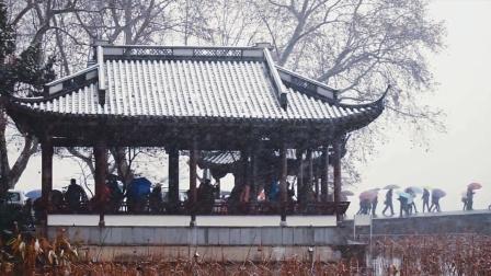 冰雪风情之杭州美景