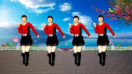 动感广场舞《闯码头》节奏欢快动感,好听好看又好学
