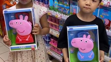 童年亲子:妈妈真偏心,不给姐姐买玩具