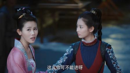 陈钰琪去青楼找罗云熙,罗云熙很是无语,在背后看着