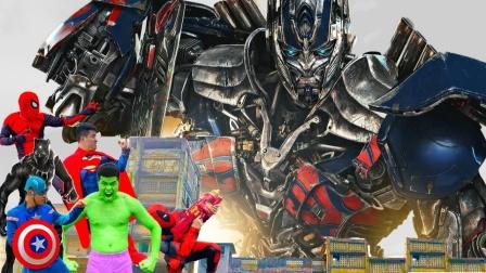 蜘蛛侠:超级英雄VS变形金刚