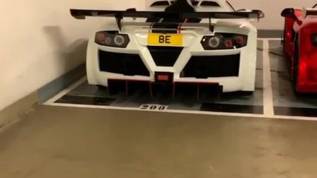 香港车库的顶级豪车,双胞胎阿波罗,法拉利都不敢离它太近!