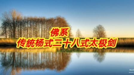 佛系   传统杨式二十八式太极剑